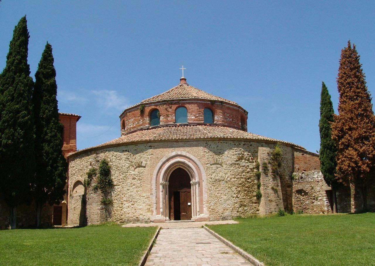 Zabytkowy kosciol Perugia Włochy