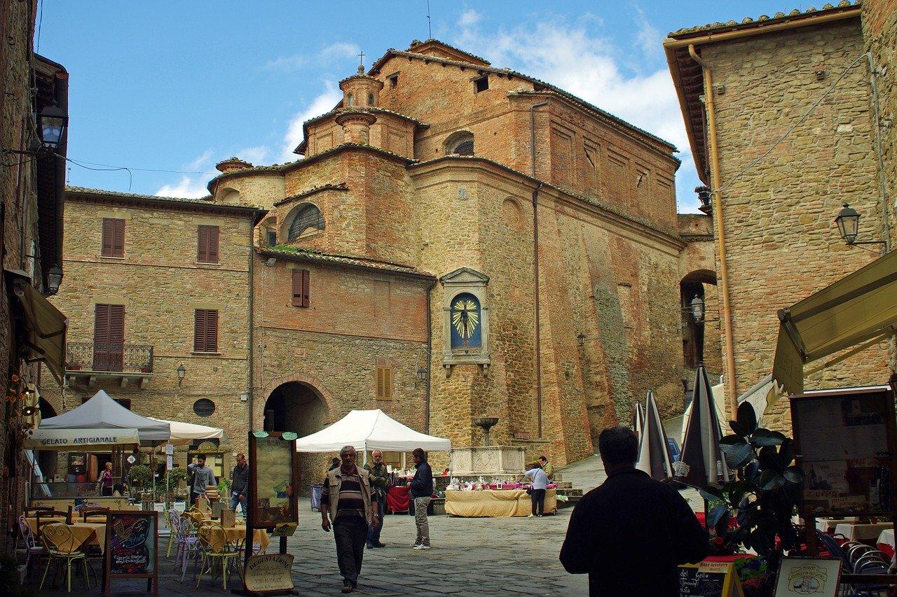 Perugia, Włochy na wakacje albo city break